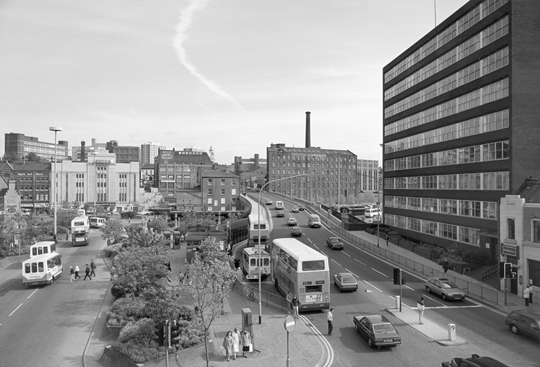 John Davies_Mersey Square, Stockport, 1986