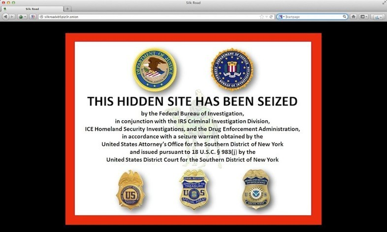 silk road fbi notice