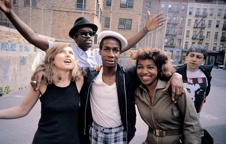 Debbie Harry, Fab 5 Freddy, Grandmaster Flash, Chr