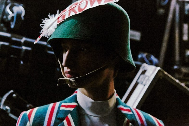 Backstage at Walter Van Beirendonck AW14