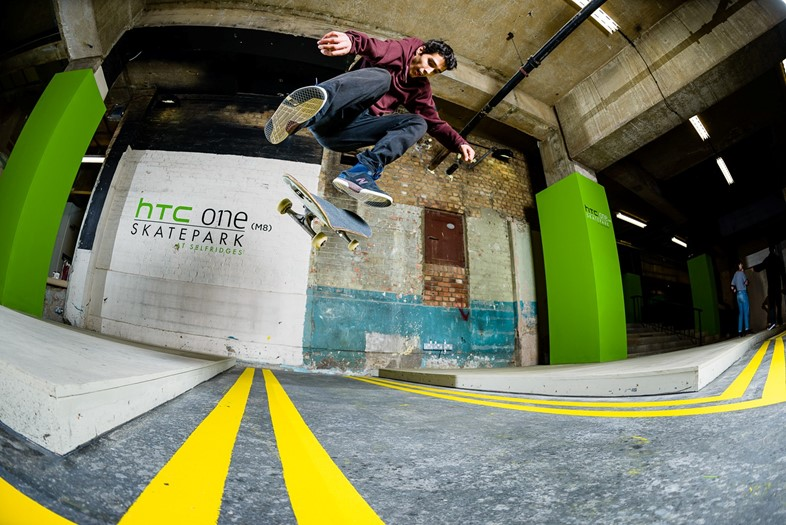 The HTC One Skatepark at Selfridges - 1