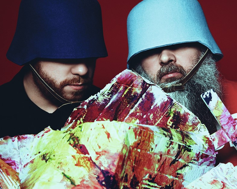 Craig Green and Walter Van Beirendonck