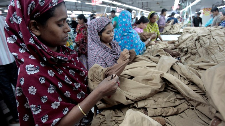 women in bangladesh factory