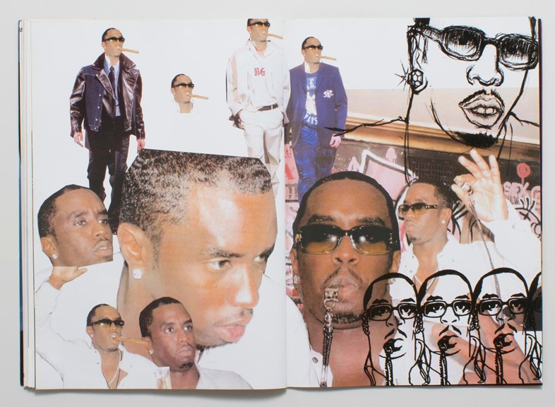 Puff Daddy for Versace Magazine, Dazed VFiles vaults