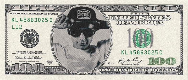 Dollar-bill chaz ortis
