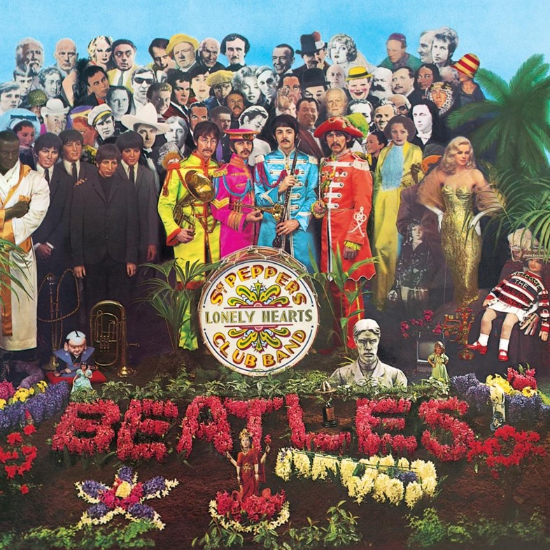 Sgt Pepper's Lonely Hearts Club album cover