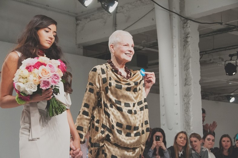 Cora Corre (Next) and Vivienne Westwood, Dazed Digital