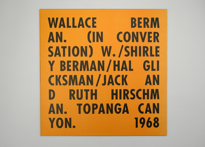 Wallace Berman – A Conversation
