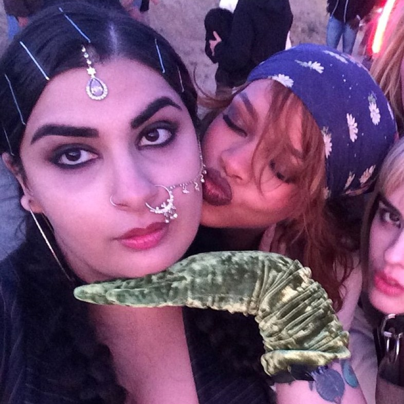 How cool is Rihanna's Desi femme fatale sidekick?
