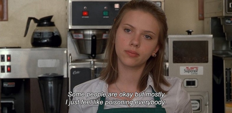 Ghost World 2001 Scarlett Johansson
