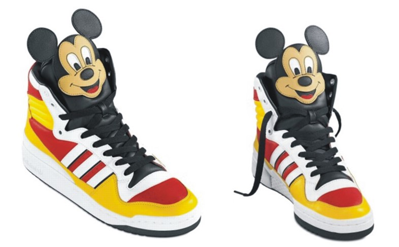 Jeremy Scott Disney shoes