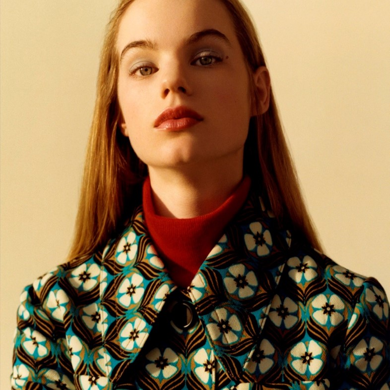 Estelle Boersma for Miu Miu Pre-Fall 2015 campaign
