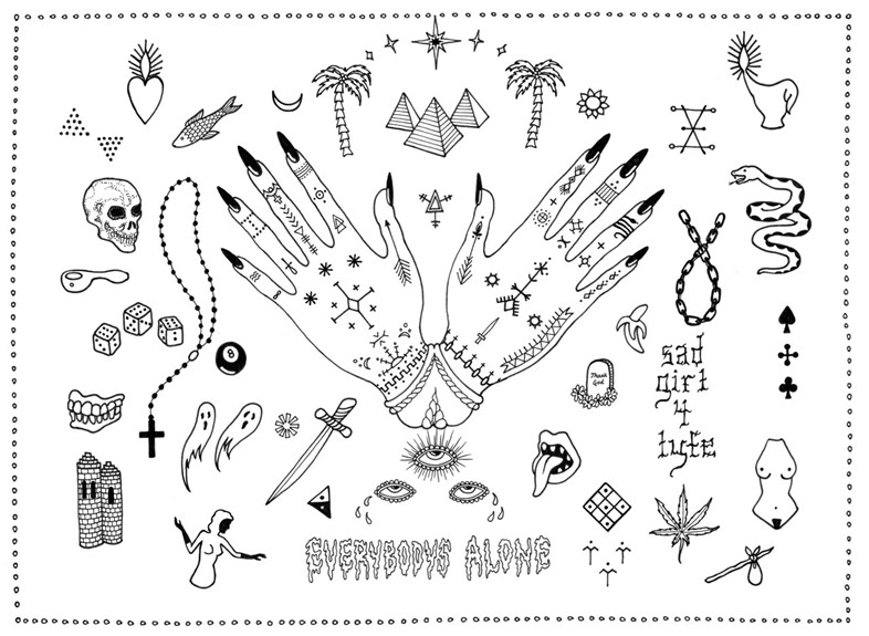 London_Tatiana Kartomten_Tattoo Flash copy