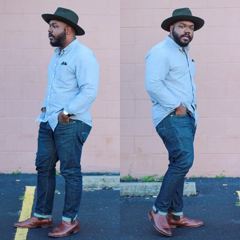 Menswear blogger Kelvin AKA Notoriously Dapper