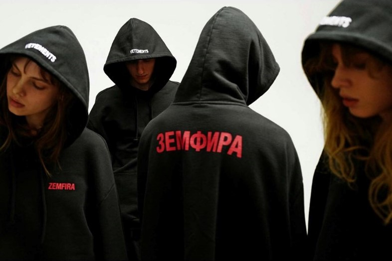 Vetements Cyrillic