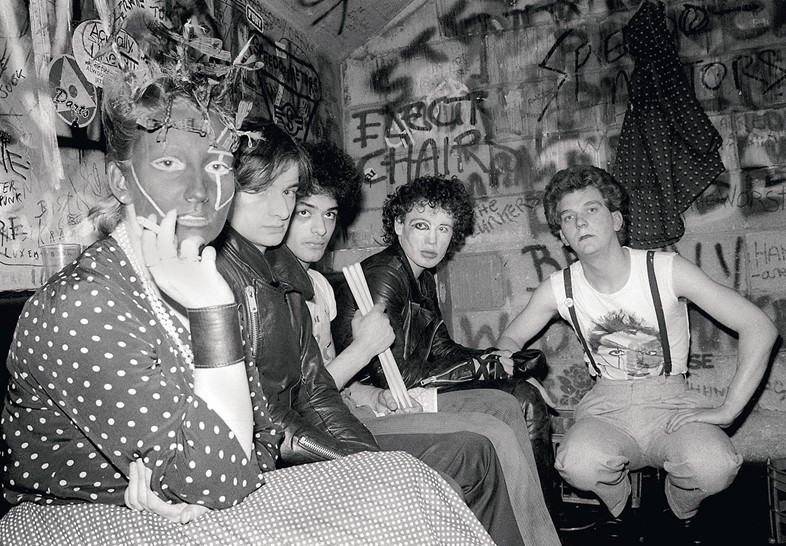 Jordan Mooney punk and Adam and the Ants