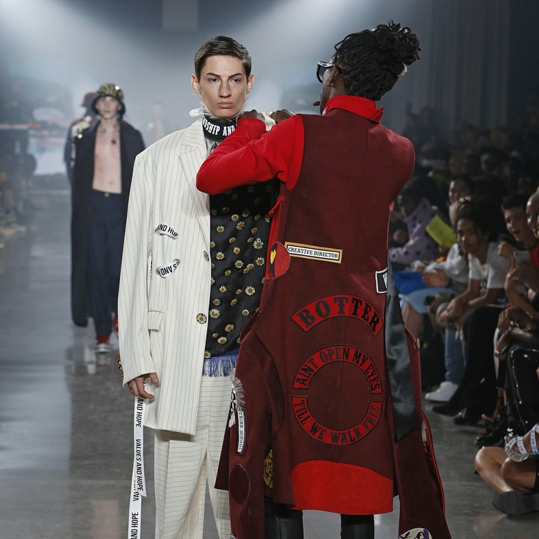 Young Thug Stops A Model Mid Show At New York Fashion Week