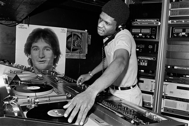Larry Levan at PG dA-Zed