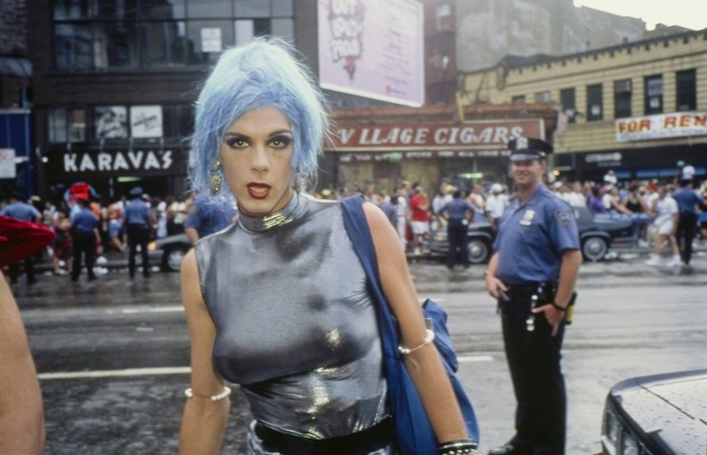 nan goldin Misty in Sheridan Square, NYC, via arts