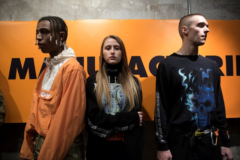 Heron Preston AW17 Menswear Paris Dazed