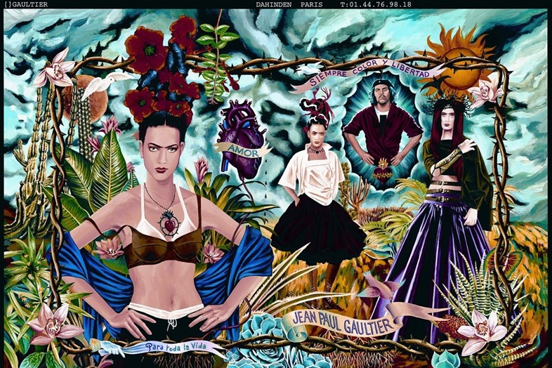 frida kahlo jean paul gauliter 1998 illustration ss98