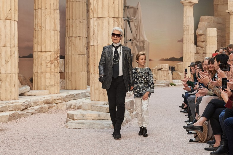 chanel cruise paris ancient greece resort