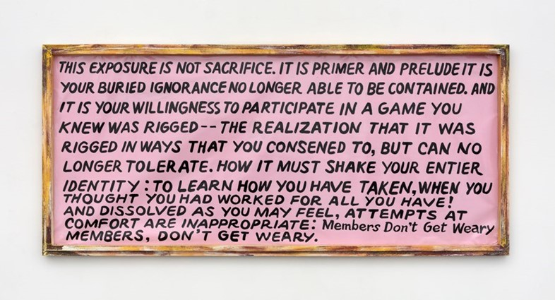 Mandy Harris Williams at Paula Cooper Gallery, NYC