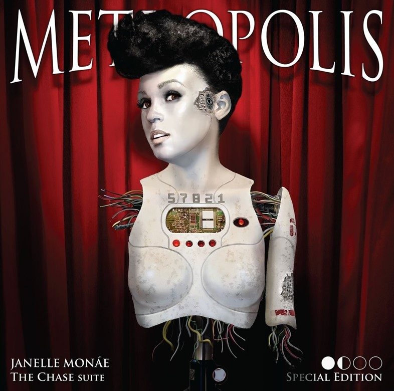 Janelle Monae - Metropolis The Chase Suite artwork