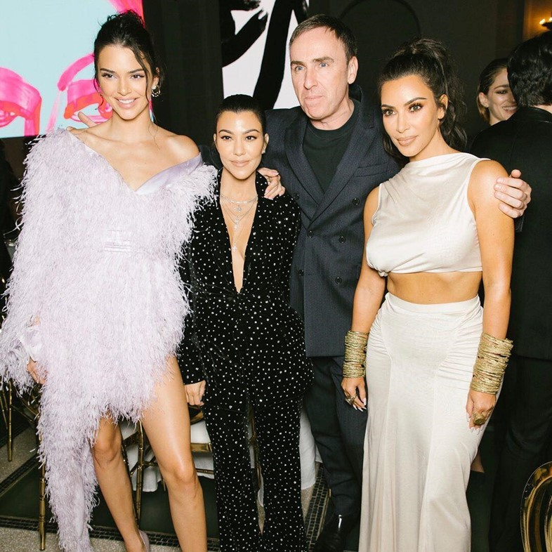 cfda awards raf simons kardashians fashion