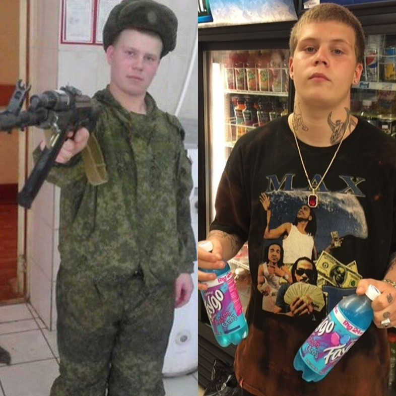 Yung Lean Russian army
