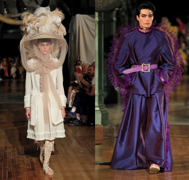Palomo Spain ss19 Wunderkammer Madrid fashion week