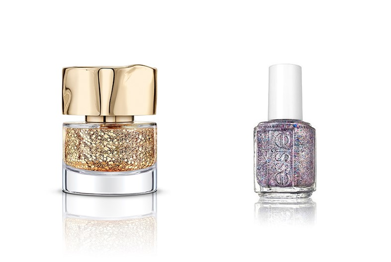 glitter nail varnish