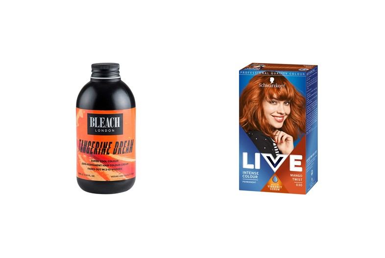 ginger hair dye
