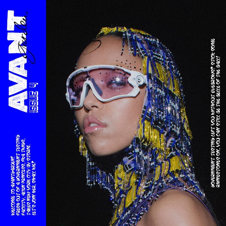 Check out the fourth issue of FKA twigs' AVANTgarden zine