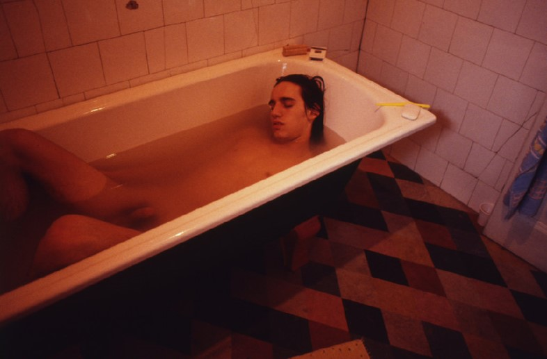 George in the Bath - Corinne Day, 1994