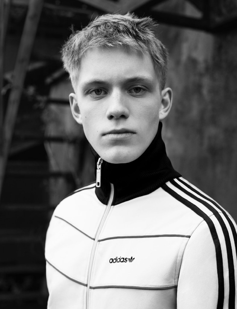 FELIX wears jacket by ADIDAS from ROKIT
