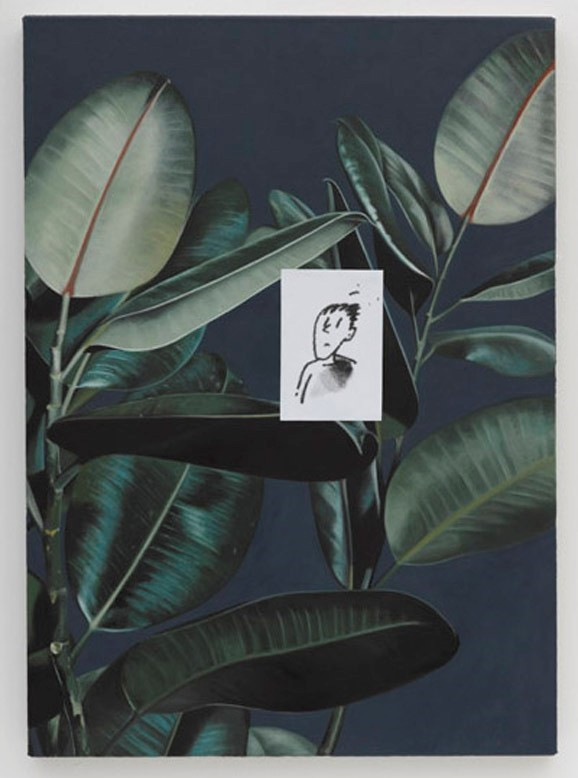 Rubber Plant (The Adolescent) (2013) Oliver Osborne
