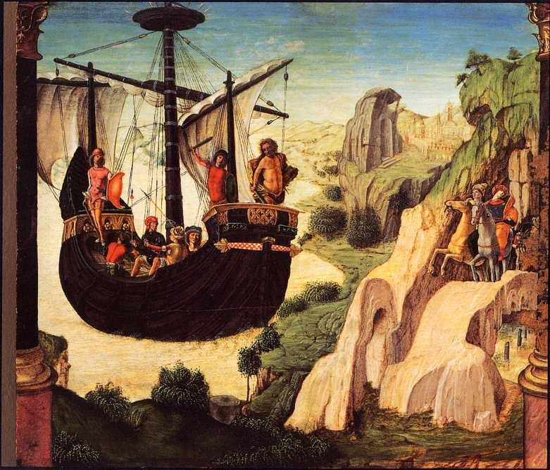 Argo by Lorenzo Costa, depicting the Argonauts The