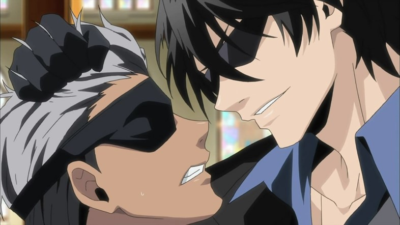 K for Kink - Screencap from Arcana Famiglia