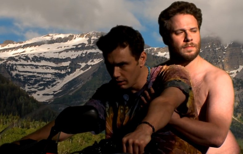 James Franco Seth Rogen Bound 2 music video