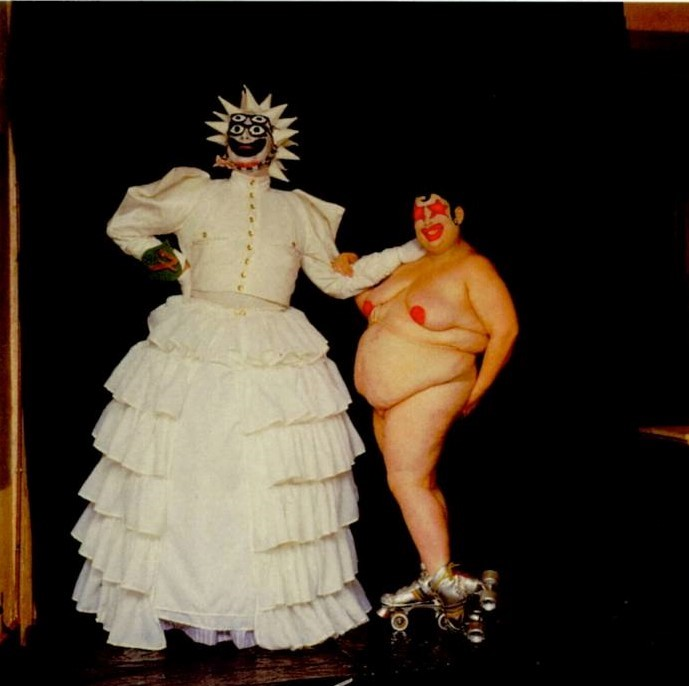 Leigh Bowery as 'Miss Fuckit' Miss Alternative World 1986