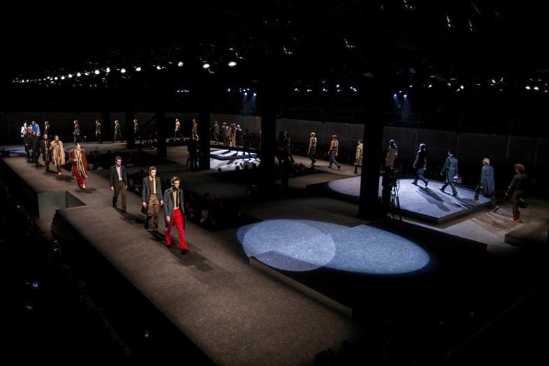 Prada Men's AW14 Showspace  (7)