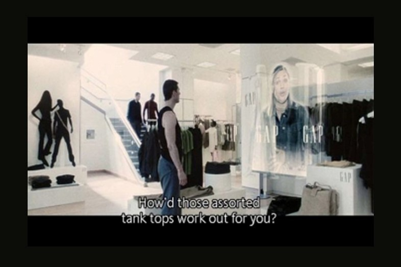 5 - scene from minority report, in which advertisi
