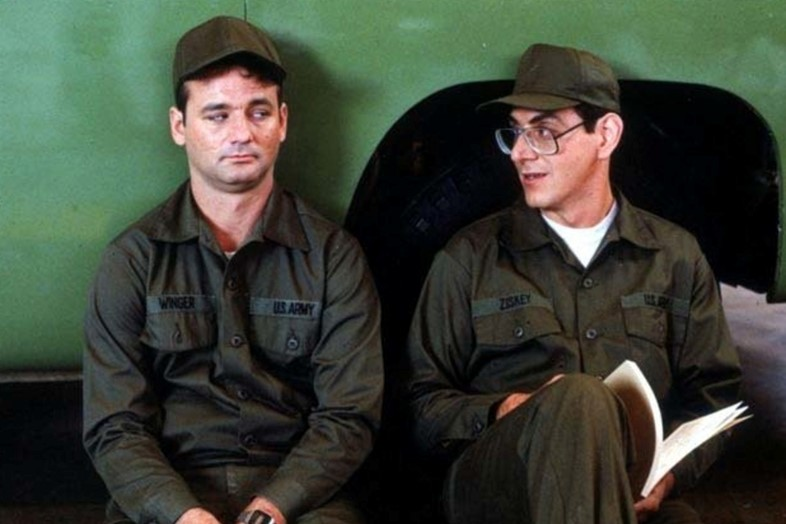 Harold Ramis with Bull Murray