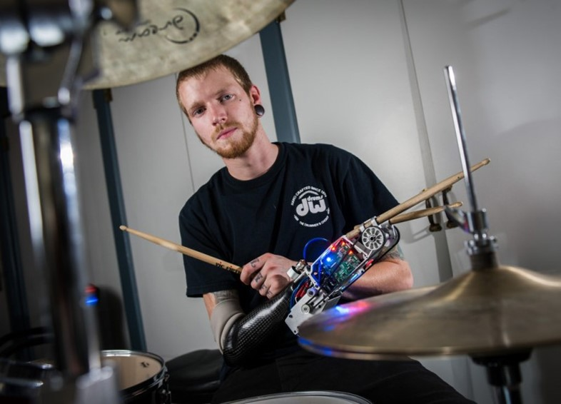 robot drummer rob felt georgia tech