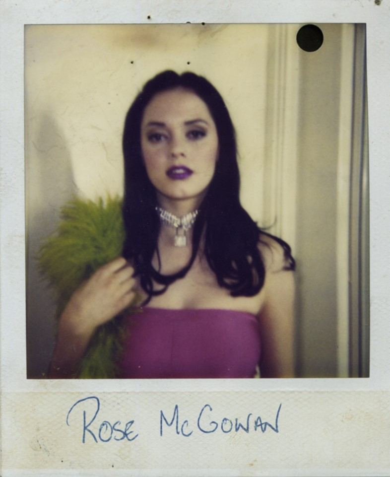 Rose McGowan Imperial Teen Polaroid