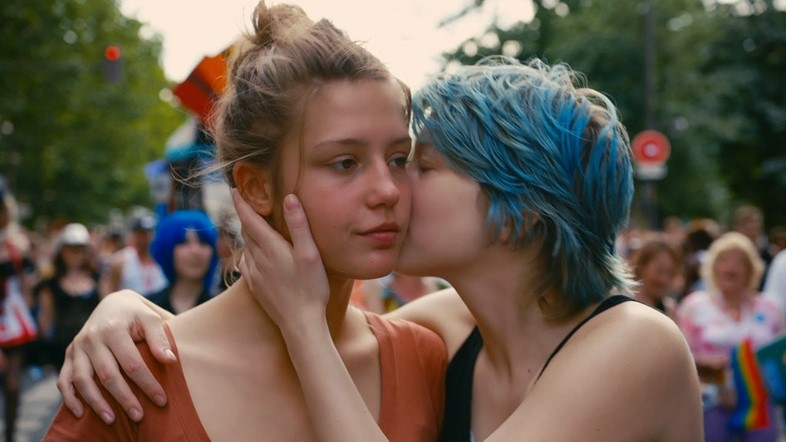 blue is warmest color
