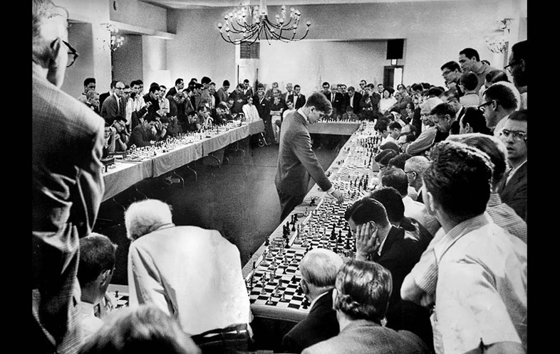 5) The power of chess compelled him - Bobby Fische