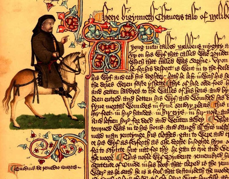 Canterbury Tales - Ellesmere Chaucer