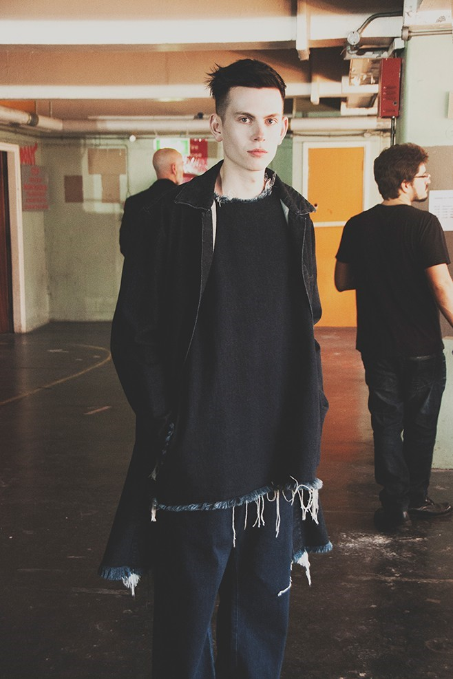 Marques'Almeida SS15 Mens collections, Dazed